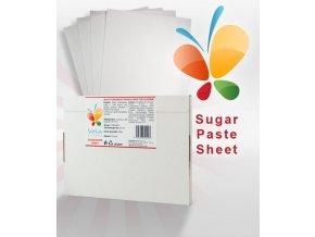 17783 jedly fondanovy papir a4 pro tisk cukrova folie 0 45mm 25 ks krabice