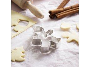 foremka wykrawacz do ciastek i piernikow metalowy ludzik 5 cm