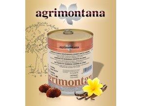 2042 kastany s vanilkou bourbon agrimontana na kusy 1 kg plechovka
