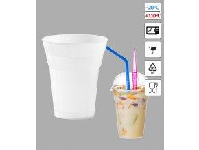 7271 kelimek milk shake 300ml pruhledny 50 ks bal