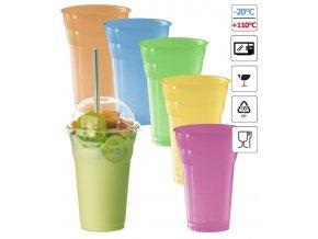 7274 kelimek milk shake 350ml barevny 50 ks bal