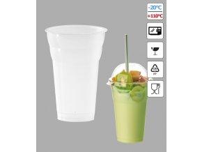 7277 kelimek milk shake 350ml pruhledny 50 ks bal