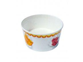 7346 kelimek papirovy na zmrzlinu 160 ml ovoce 200 ks bal
