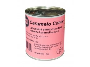 746 kondenzovane mleko slazene karamelizovane 1 kg plech