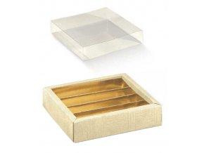 6335 krabicka rozdelovac v 35mm viko plast 145x75 platno 1 ks krabicka