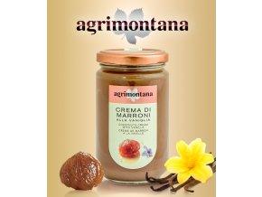 2057 krem kastanovy agrimontana s vanilkou bourbon hladky 350 g sklo