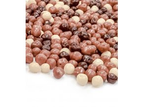2951 krupave kulicky v cokolade prum 4mm mix 1 kg sacek