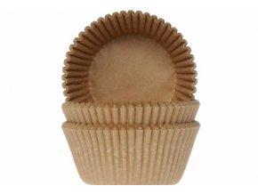 Košíček na muffiny papírový přírodní 50ks