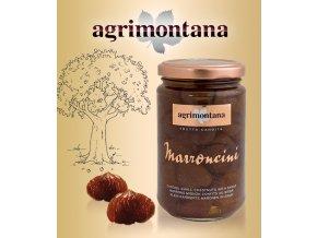 2063 marron glaces mignon s vanilkou bourbon agrimontana cele 420 g sklo