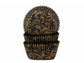 Košíček na muffiny oriental zlatý