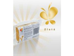 1202 modelovaci hmota golden af s kakaovym maslem zlata 100 g sacek