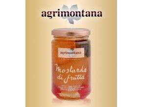 2069 mostarda di frutta agrimontana ovocny mix 390 g sklo