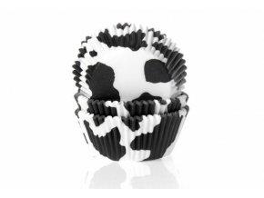 Košíček na muffiny černá kráva