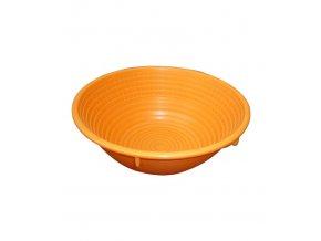 8189 osatka na chleb 1000 g kulata oranzova prum 21 5cm polypropylen