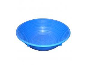8198 osatka na chleb 1500 g kulata modra prum 25cm polypropylen
