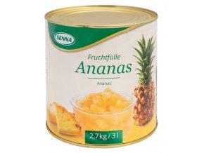 1625 ovocna napln s kusy ovoce 70 senna ananas 2 7 kg plechovka