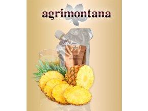 2138 ovocne pyre 90 prirodni ananas 1 kg aseptic bag