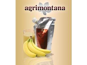 2141 ovocne pyre 90 prirodni banan 1 kg aseptic bag