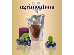 2144 ovocne pyre 90 prirodni boruvka 1 kg aseptic bag