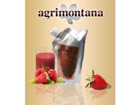 2153 ovocne pyre 90 prirodni jahoda 1 kg aseptic bag