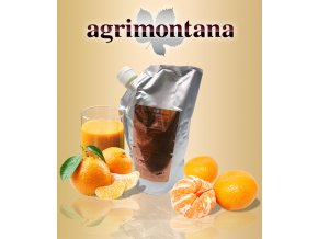 2159 ovocne pyre 90 prirodni mandarinka 1 kg aseptic bag