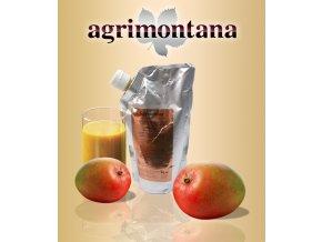 2162 ovocne pyre 90 prirodni mango 1 kg aseptic bag