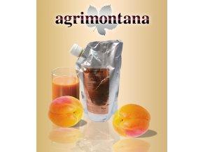 2165 ovocne pyre 90 prirodni merunka 1 kg aseptic bag