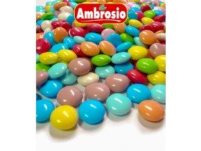 3479 pecky cokoladove pepite 1cm barevne 1 kg sacek