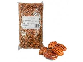 1850 pekanove orechy jadra prirodni 1 kg sacek