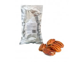 1856 pekanove orechy jadra prirodni 300 g sacek alu