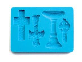 3D forma na fondant kříže