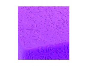 11117 podlozka dekoracni s reliefem na fondan motyl 40x20cm
