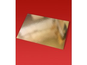 6629 podlozka dortova 1050 francie 40x60cm zlata 1ks podlozka