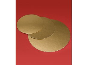 6824 podlozka dortova francie1050 prum 40cm zlata 100 ks bal