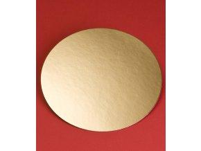 6959 podlozka papir zlata minidezert prum 12cm kulata 200 ks bal