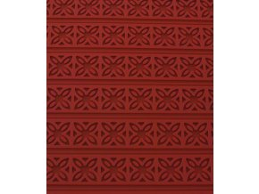 11207 podlozka silikonova s reliefem kvet 60x40cm