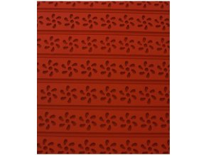11213 podlozka silikonova s reliefem kvetiny 60x40cm