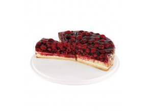17345 podnos na dort melamin pevny prum 31cm v 4cm