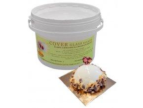 1388 potahovaci leskly gel cover glass bila cokolada 3 kg kbelik