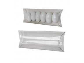 6380 pouzdro na svatebni mandle plast 100x48mm 10 ks bal