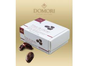 2729 prazene kakaove boby domori ekvador v cokolade 100 g krabicka