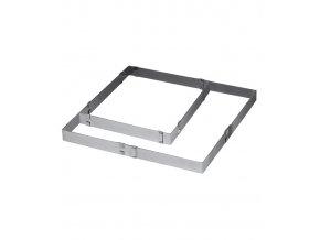 11330 rafek nastavitelny obdelnik v 5cm od 30x30 do 57x57cm