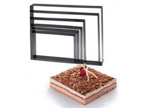 11447 rafek dortovy nerez 22x30cm v 5cm