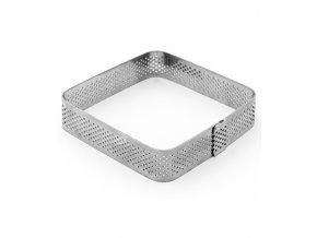 11513 rafek dortovy nerez derovany ctverec 8 5x8 5 v 2cm