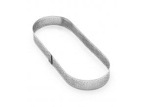 11561 rafek dortovy nerez derovany ovalny prum 7x19 v 2cm
