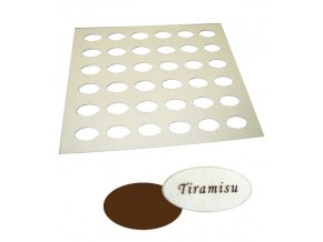 16910 silikon sablona na cokoladu oval 36 tvaru sablona