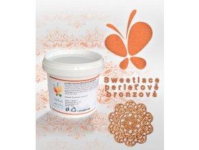 1346 sladka krajka sweet lace hotova af perletove bronzova 200 g kbelicek