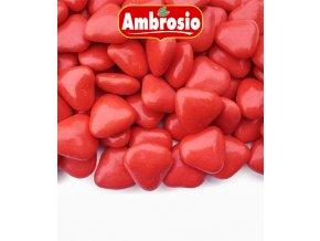 3500 srdicka cokoladova svatebni cervena 1 kg krabicka