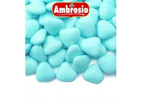 3503 srdicka cokoladova svatebni modra 1 kg krabicka
