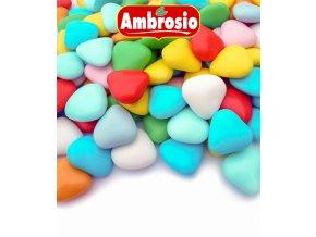 3506 srdicka cokoladova svatebni ruznobarevna 1 kg sacek